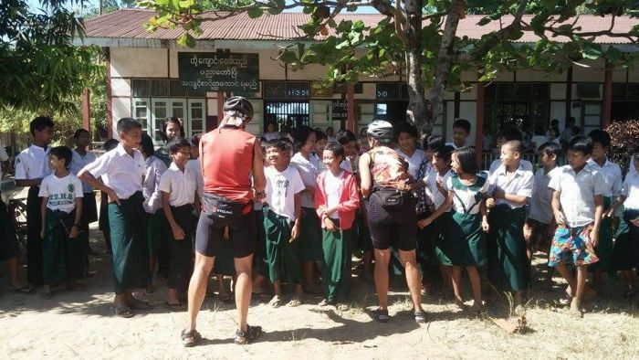 Burmese village school appeal : LVCF