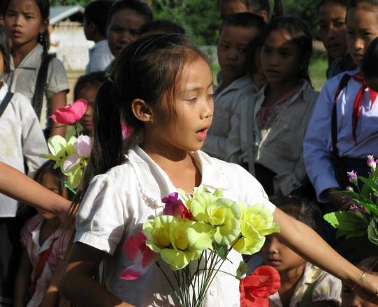 Laos Villages Water Projects : LVCF : Laotian Village Community Fund : Redspokes