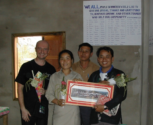 How To Donate : LVCF : Laotian Village Community Fund : Redspokes