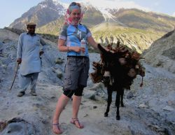 Hannah MacDonald - the first woman to cycle Shimshal to Passu